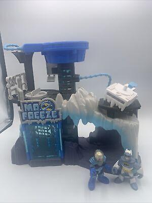 Imaginext Mr Freeze Play Set Headquarters DC Super Friends & Vehicle Batman 2014