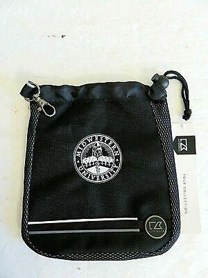 - Cutter & Buck Tour Deluxe Valuables Pouch Cinch Clip Bag Black Ballistic Poly