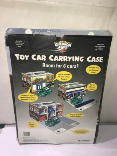 Chevron Cars - Toy Car Carrying Case - Brand New -