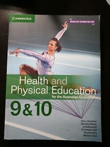 Health and Physical Education 9&10 Cambridge textbook
