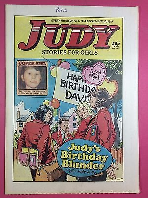 JUDY - Stories For Girls - No.1551 - September 30, 1989 - Comic Style Magazine