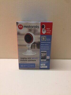 Motorola 1080p HD Wi Fi Indoor Camera Brand New