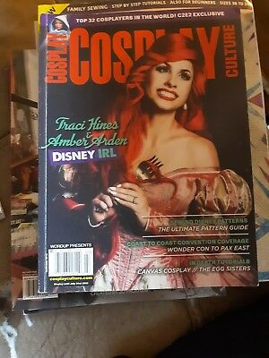 Double Cover Cosplay Culture Magazine June/July 2018 Traci Hines Halloween
