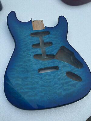 Best blue finished  Guitar body for Strat SSS style Alder (Best Strat For Blues)