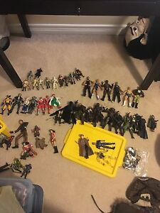 Action Figures - Star Wars, Lord of the Rings, WWE...