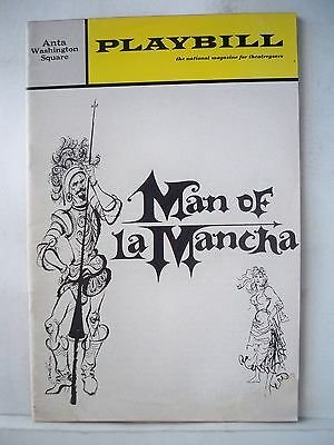 MAN OF LA MANCHA Playbill JOSE FERRER/ GERRIANNE RAPHAEL / IRVING JACOBSON 1966