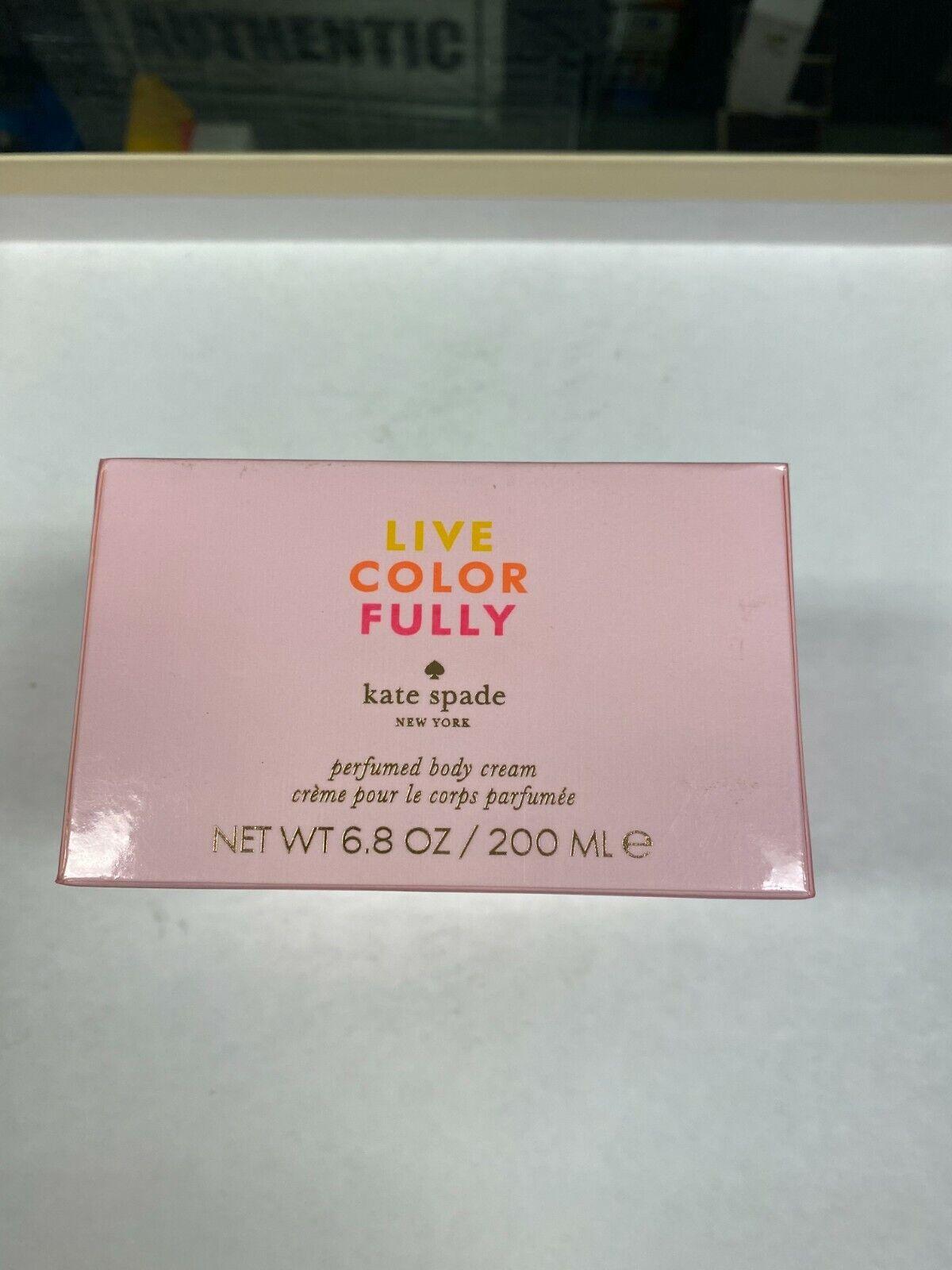 Love Color Fully By Kate Spade Perfumed Body Cream 6.8 Fl Oz  - $72.50