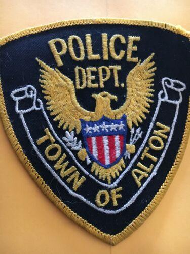 Alton New Hampshire Vintage Police Patch