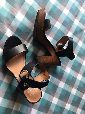 F&F Ladies Black Shoes Size 6(39)Worn Once