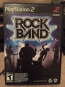 Rockband & Instruments for PS2