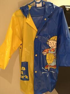 Wahu Swimming Vest and Bob the Builder Raincoat