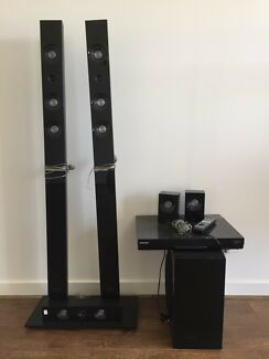 Samsung home theatre with 3d blue ray player