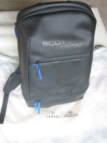Scotty Cameron 2019 Club Cameron - Vessel Backpack - Brand New With Dust Bag