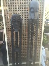 2 TALL ISLAND  STATUES  IN GOOD  CONDITION Stockleigh Logan Area Preview