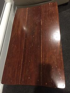 Solid wood coffee table Wyee Point Lake Macquarie Area Preview