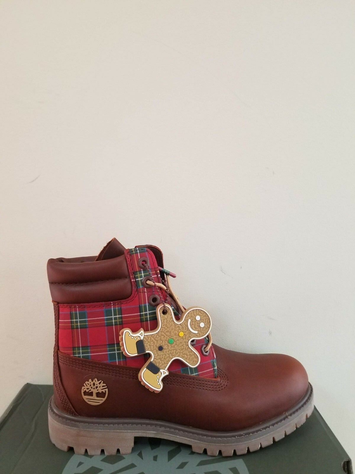 Timberland Women's  6-Inch Premium Waterproof Boots 2018 Holiday Edition NIB