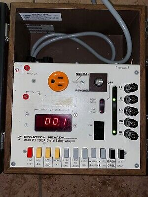 Dynatech-nevada Pei 2000a Digital Safety Analyzer