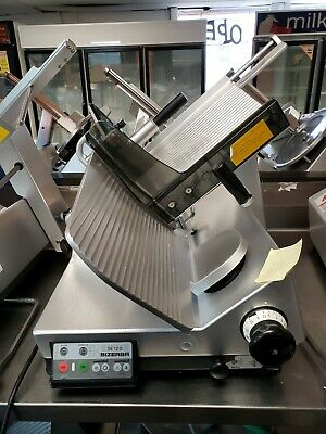 Bizerba Se 12 D -us Automatic Commercial Deli Cheese Meat Slicer