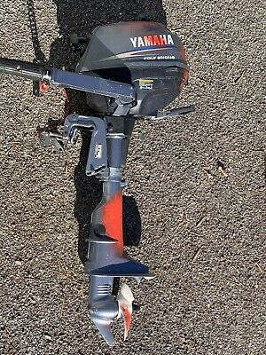 Yamaha F 2.5 Hp AMHS 4-stroke Short Shaft Outboard Engine Boat Motor