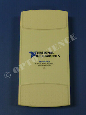 National Instruments Usb-6212 Data Acquisition Card Ni Daq Multifunction