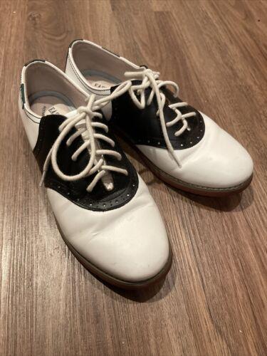 Eastland  Black & White Saddle Shoes Size US 7 M 3331-13 Sad