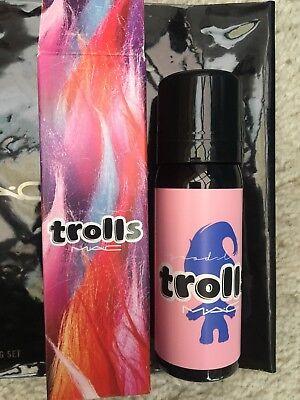 MAC TROLL Good Luck Locks Pink Hair Spray * Discontinued * Free Shipping