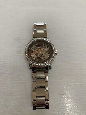 STUHRLING 430L Regent Lady Consul automatic watch rose gold/swarovski