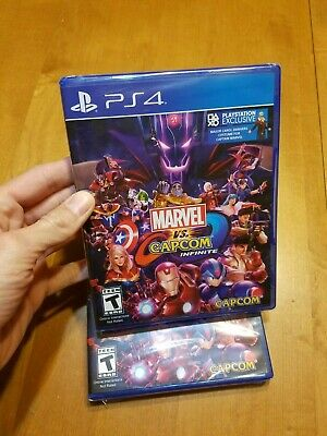PS4 Playstation 4 Marvel vs. Capcom Infinite BRAND NEW FACTORY SEALED