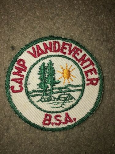Boy Scout BSA Camp Vandeventer Mississippi Valley Illinois Tree CE Council Patch