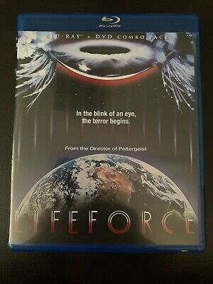Lifeforce Blu-ray DVD 1985 Scream Factory Tobe Hooper Mathilda May