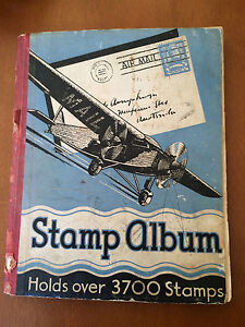 Vintage Stamp Album with 500 stamps Mount Annan Camden Area Preview
