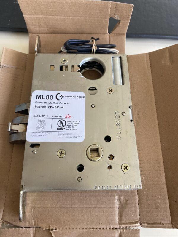 command access ML80 electric fail secure L9080LBEU commercial MORTISE Only 24V