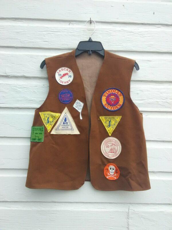 Vintage 1975 YMCA Y-Indian Guides Vest