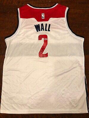 a4e63b762 John Wall Signed Washington Wizards Jersey Beckett BAS Coa Autographed  Kentucky