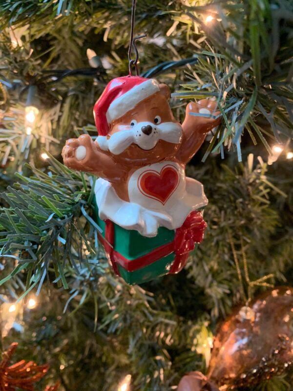 1984 American Greetings Tenderheart Care Bears Christmas Ornament