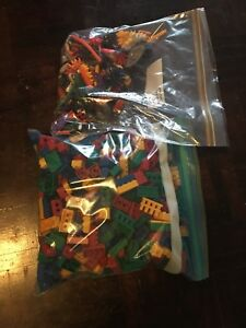 Two large bags of k'nex