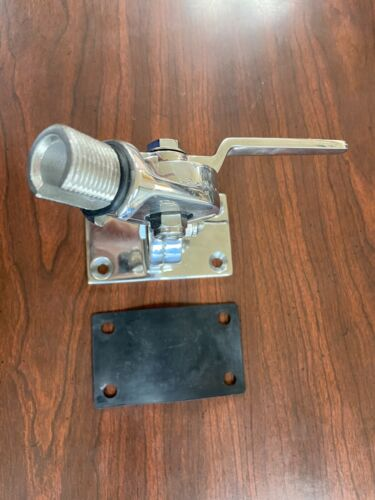 Shakespeare 4187 VHF Stainless Steel 4 way Ratchet Mount w/gasket Boat Antenna