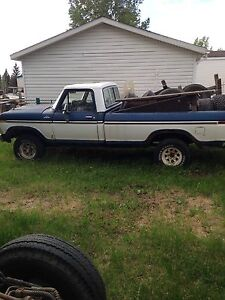 77 Ford F-150 4 x 4 $2500 firm