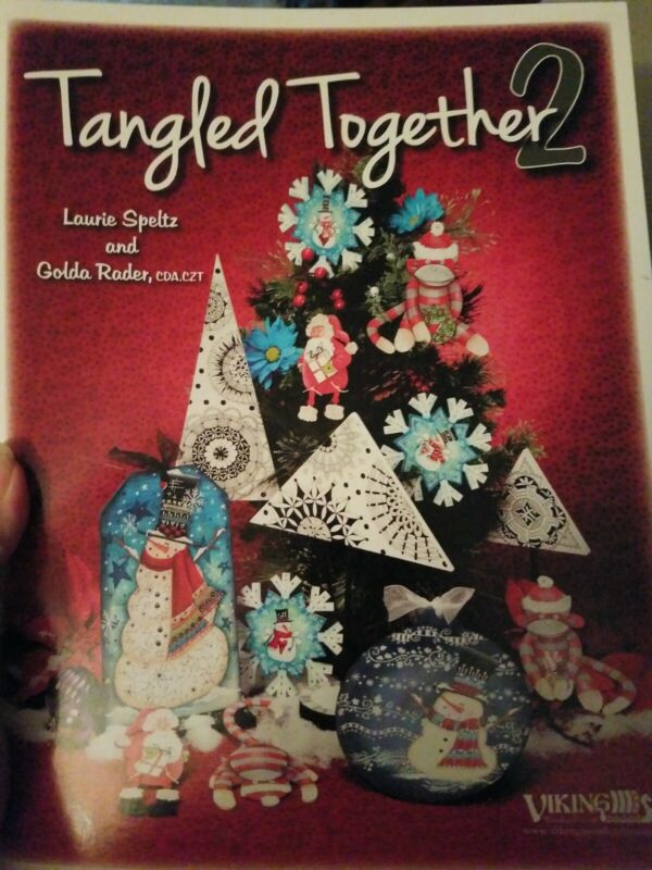 DECORATIVE TOLE PAINTING PATTERN BOOK TANGLED TOGETHER 2