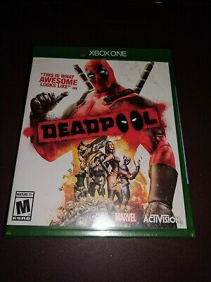 Deadpool Mcrosoft Xbox One Marvel NEW Sealed FREE USA shipping