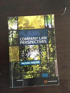 Company Law Perspectives, second edition by Michael Quilter Rhodes Canada Bay Area Preview