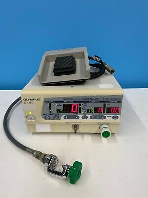 Olympus Uhi-3 High Flow Insufflator With Yoke And Hose And Foot Pedal