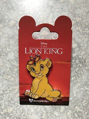 DLP DLRP Disneyland Paris Lion King Baby Nala Butterfly Pin Lion King Nala Pin - Baby Lion King