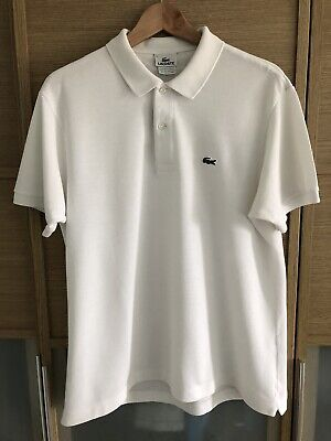 Lacoste Mens Polo Top Size 5