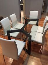 Stylish Glass Dining Table + Chairs + Coffee tables Northbridge Perth City Preview