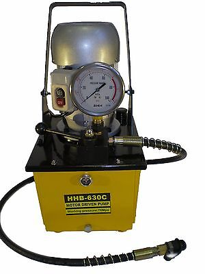 Electric Driven Hydraulic Pump 10000 PSI (Single acting manual valve) B-630C