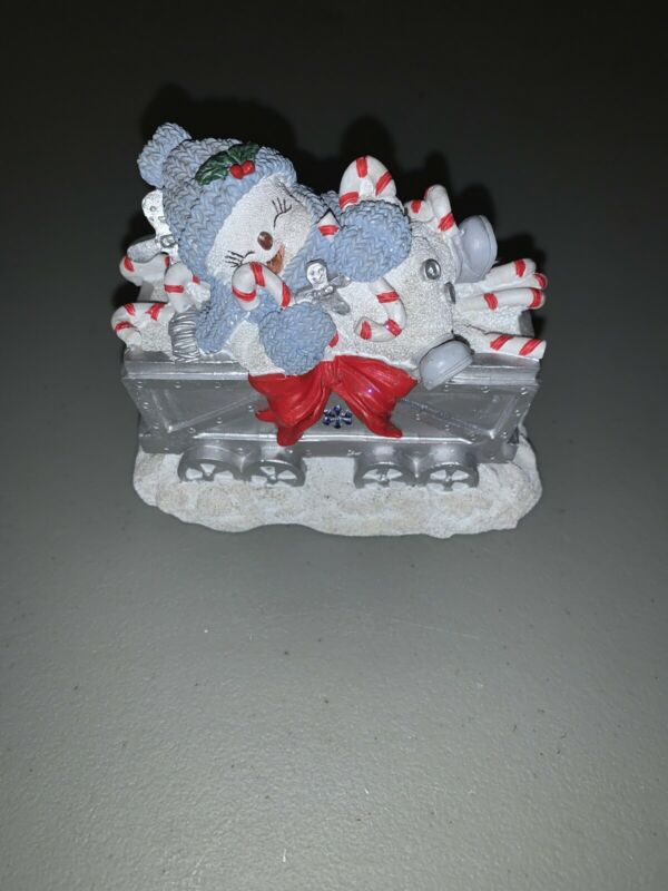 "Encore Snow Buddies  ""Everest In Box Car With Candy Canes""   No Box"