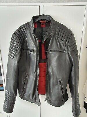 Idris Elba  Leather Jacket - Superdry