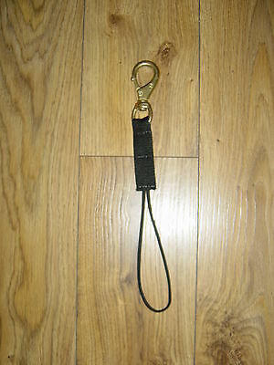 NAVAL BRONZE SWIVEL No 2 LANTERN LAMP REEL HEAVY DUTY  WEBBING LANYARD