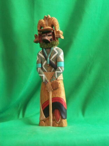 Hopi Kachina Doll - Pang, the Mountain Sheep Kachina by Pat Howesa - Gorgeous!